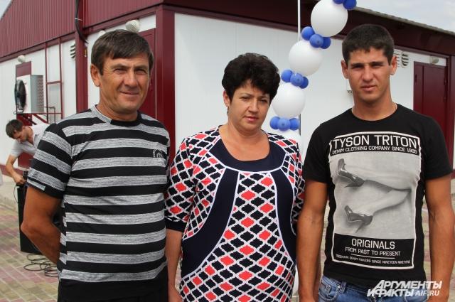 Трудолюбивую семью Бочко из села Камышевка хорошо знают в Матвеево-Курганском районе