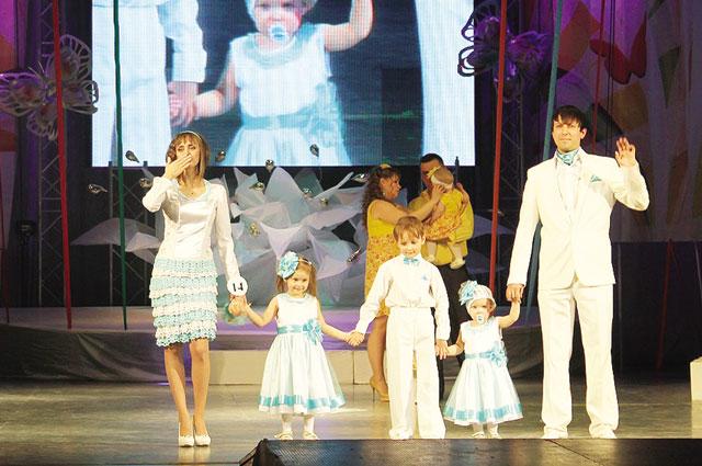 Многие участницы оказались мамами троих и четверых детей.