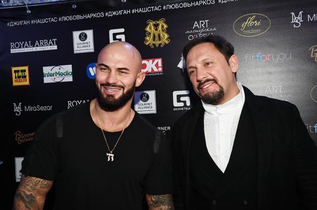 Стас Михайлов (права) и Джиган.