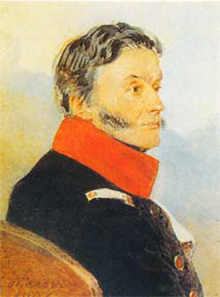 Н.Н. Раевский. Картина Петра Соколова, 1826 г.