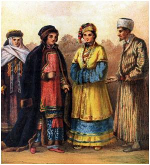 Волжские татары.