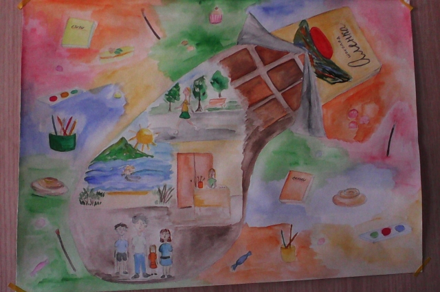 Рисунок Алины Щаповой.