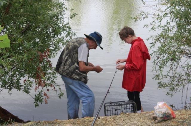 Книги по рыболовству - одно, практика - совсем другое.