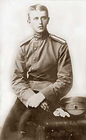 Подпоручик Нагурский, 1912 г.