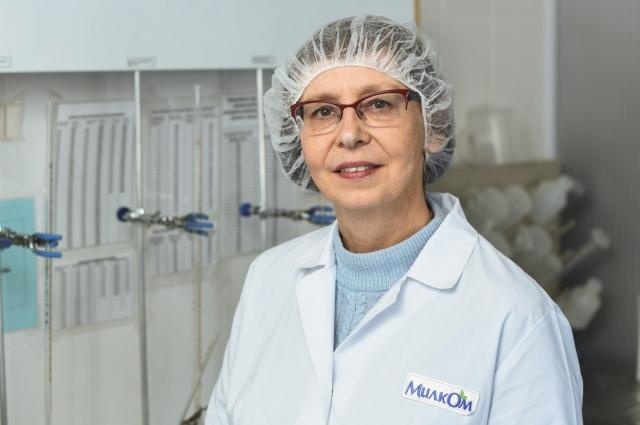 Елена Вокорина на своём рабочем месте.