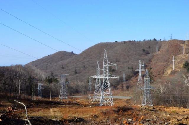 Приморские электрические сети строят линию 110 кВ