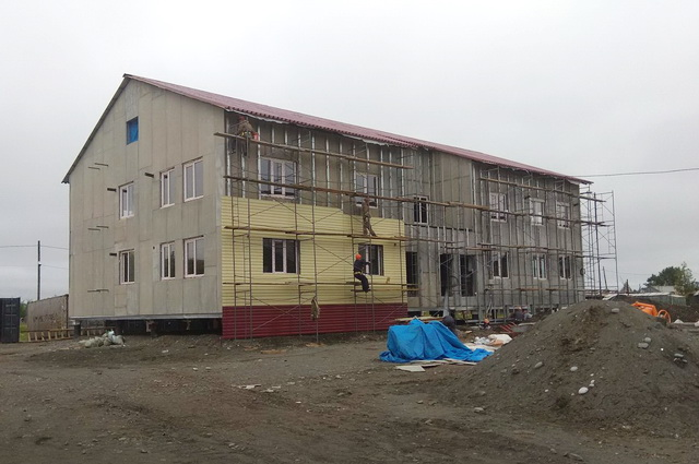 Новый дом, строительство