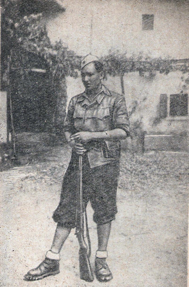 Партизан Михайло, 1944 год.
