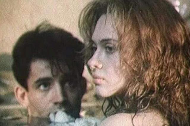 Ольга Дроздова и Дмитрий Певцов в фильме «Прогулка по эшафоту», 1992 год.