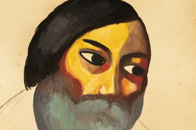 «Голова крестьянина». Продана на аукционе в Лондоне, в 2014 году за 3,5 миллиона долларов.
