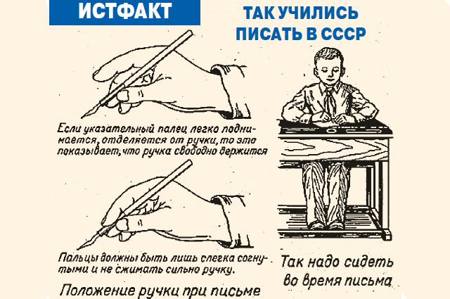 Как писали в СССР