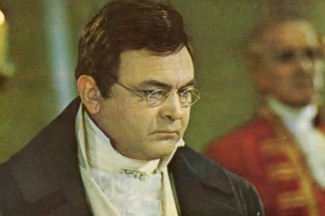 Сергей Бондарчук в роли Пьера Безухова.