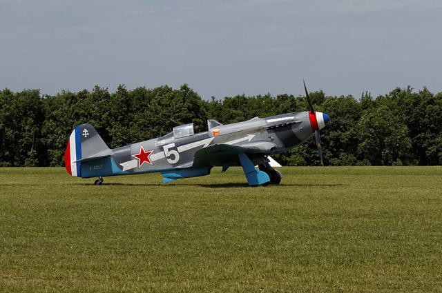Як-3 авиаполка Нормандия-Неман