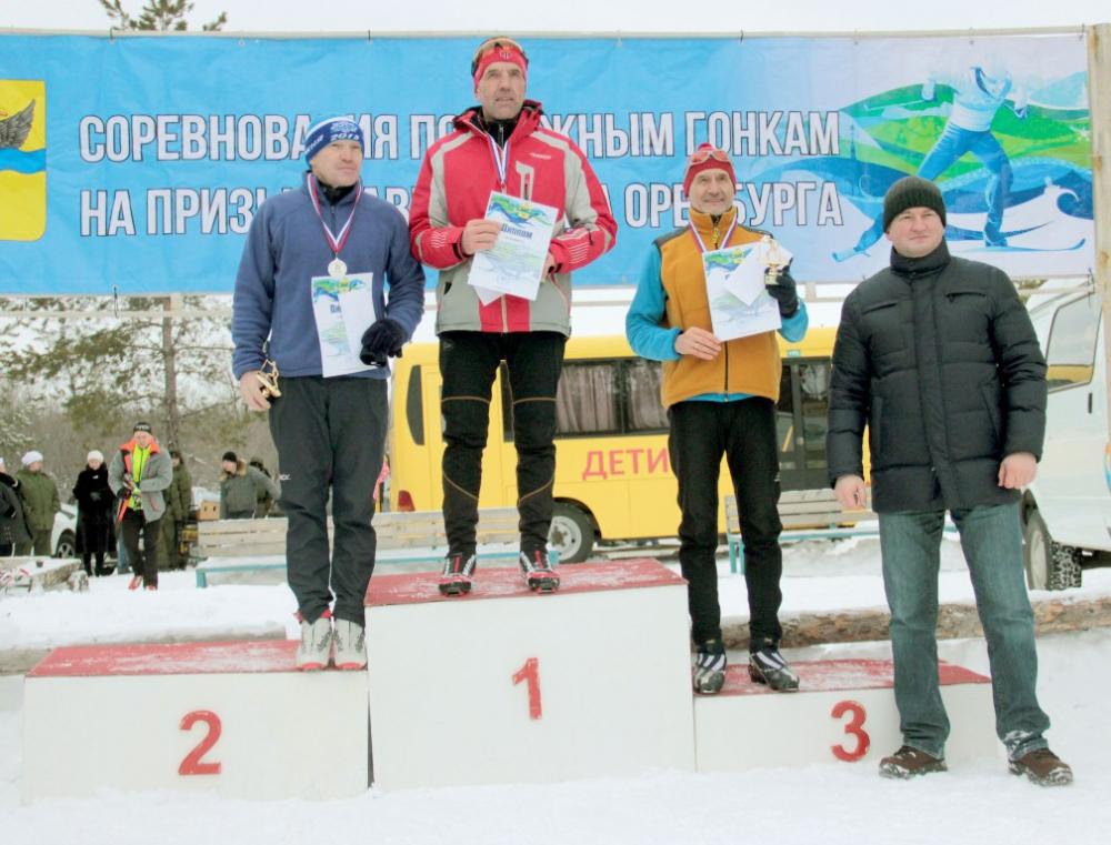 Чемпионат и первенство Оренбурга по лыжным гонкам.