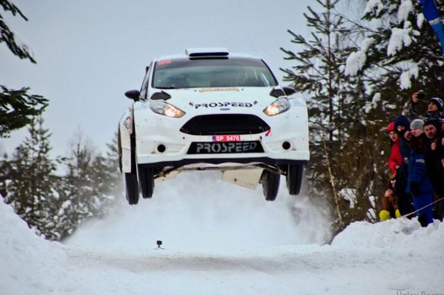 Знаменитая Ford Fiesta R5 под управлением Игоря Буланцева. Сильницкий трамплин.