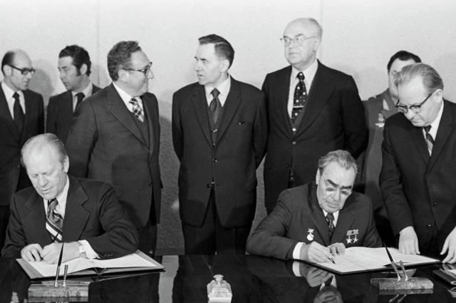 Исторический договор об ограниченнии вооружений подписан.