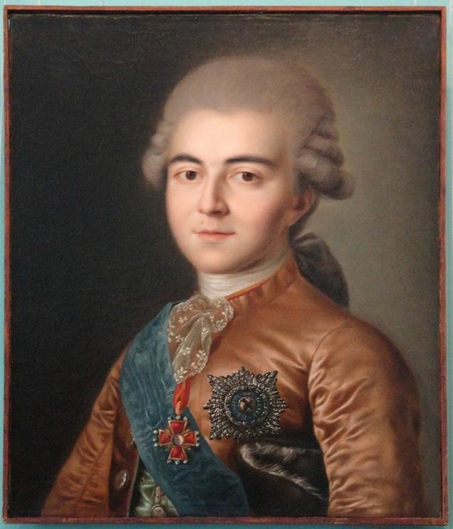 Портрет Алексея Разумовского.