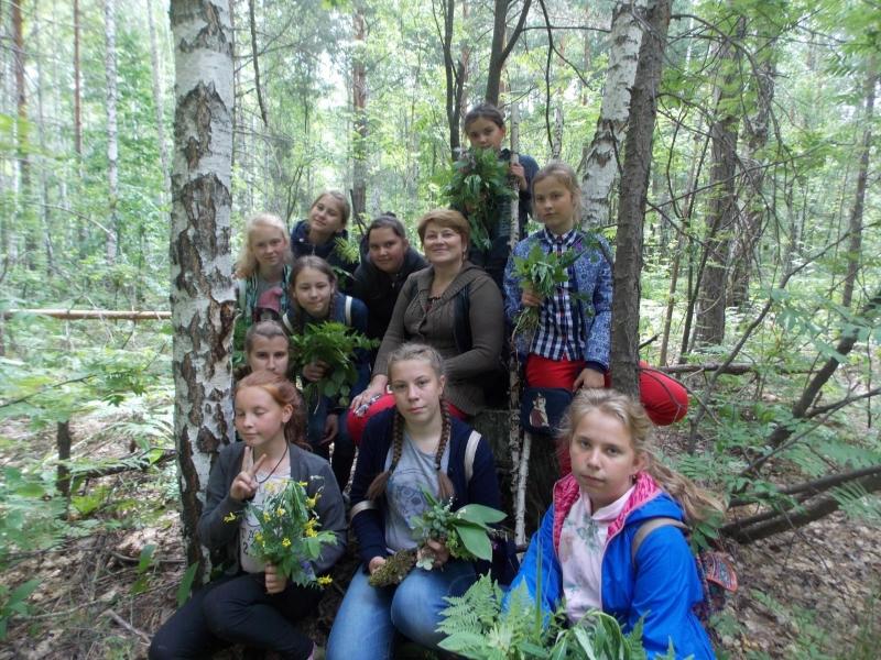 Юные исследователи природы Николаевского района