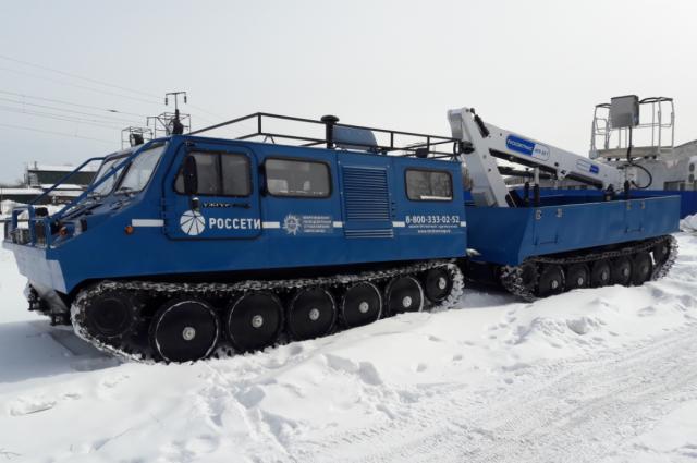 Гибридные вездеходы «РУСАК» можно использовать как передвижные мобильные электростанции.