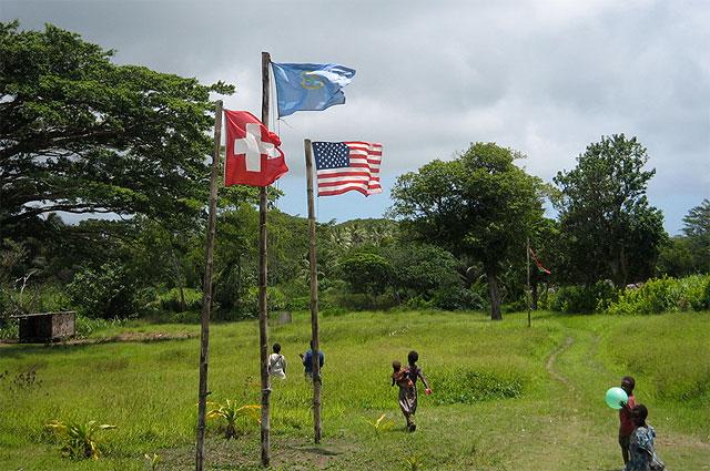 Культ карго Джона Фрума и флаги движения. Меланезия