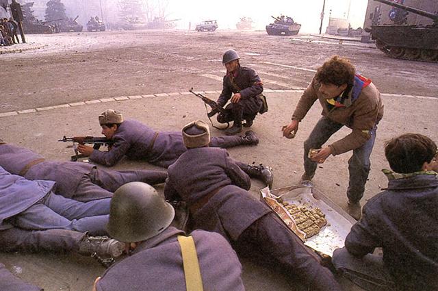 Бои на улицах Бухареста, декабрь 1989 года