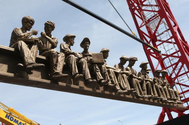 Строителей столице требуется много. На фото — экспонат выставки «Строительная техника и технологии-2015», проходившей в Москве.