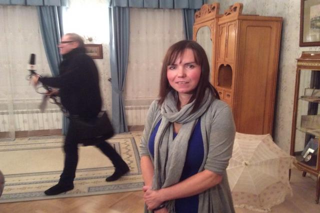 Прапраправнучка Боратынского Вера Завьялова