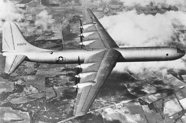 Американский бомбардировщик B-36.