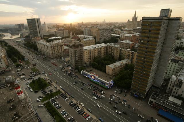 Улица Новый Арбат.