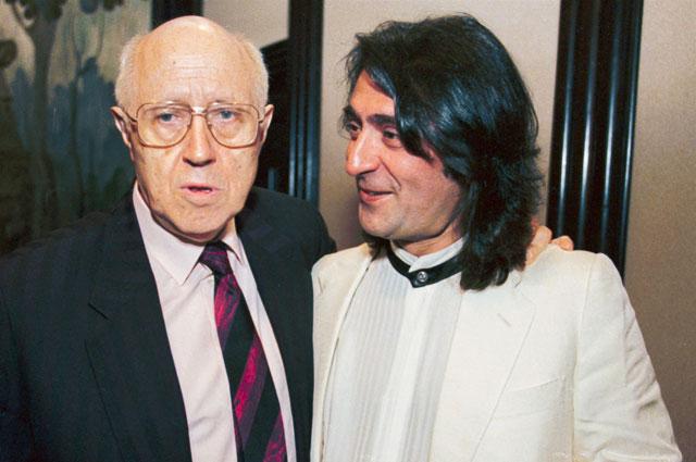 Мстислав Ростропович и Юрий Башмет, 1998 год