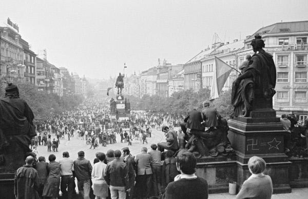 Пражская весна в Чехословакии. События в Праге в 1968 году