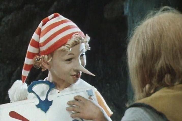 Кадр из фильма «Приключения Буратино»
