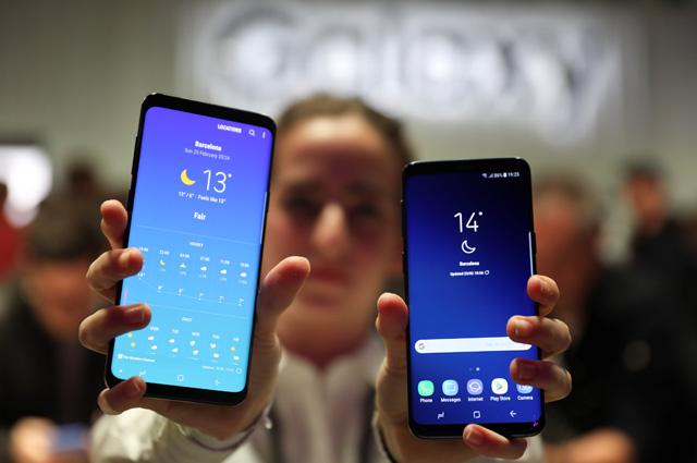 Samsung Galaxy S9+ и Samsung Galaxy S9.