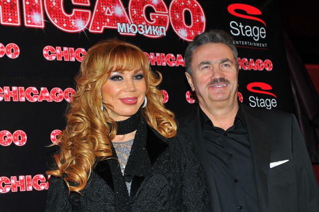 Маша Распутина с супругом.