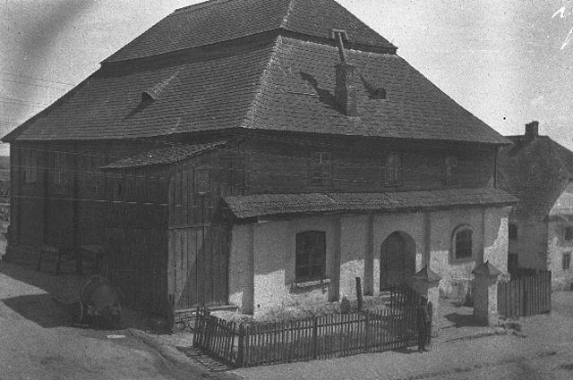 Синагога в Глубоком. 1916 год.