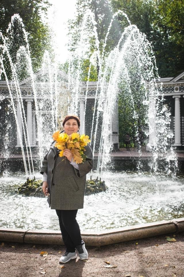 Яркая осень, Елена Берлина.