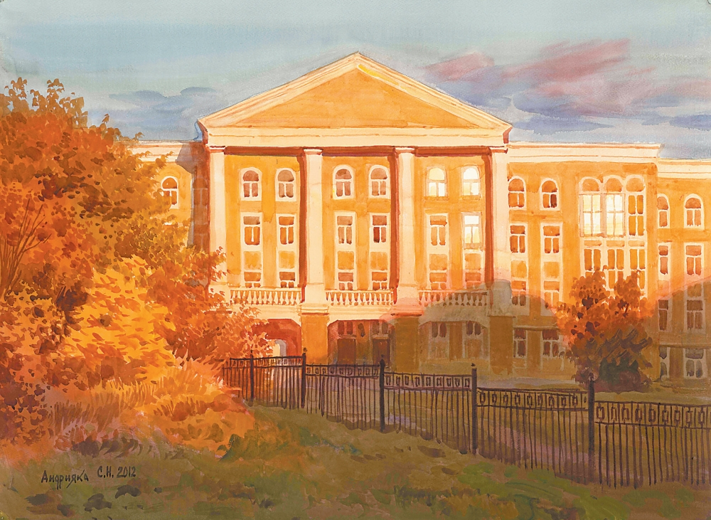 Картина академии Сергея Андрияки