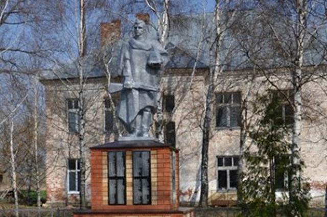Капитальный ремонт памятника погибшим воинам в селе Междуречье Алатырского района.