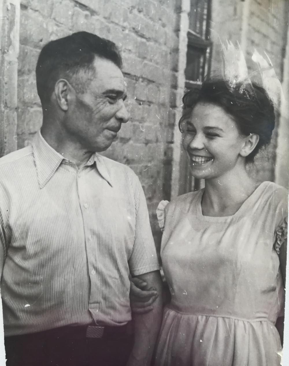 Фрол Корнеев с дочерью Татьяной