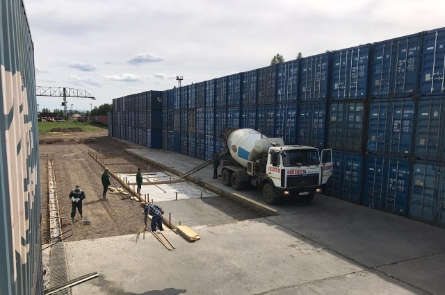 Началась реализация инвестиционного проекта «Строительство контейнерного терминала».