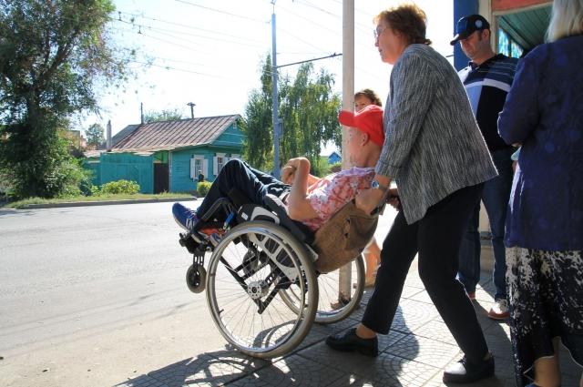 Не приспособлены в Оренбурге не только улицы, но даже учреждения соцзащиты.