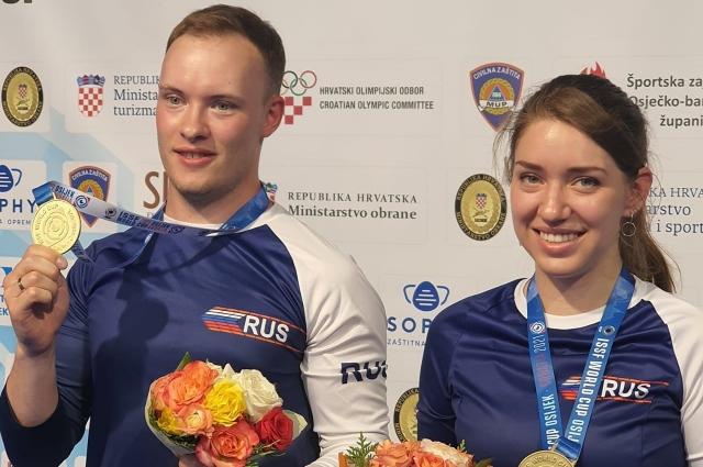 Артём Черноусов и Виталина Бацарашкина.