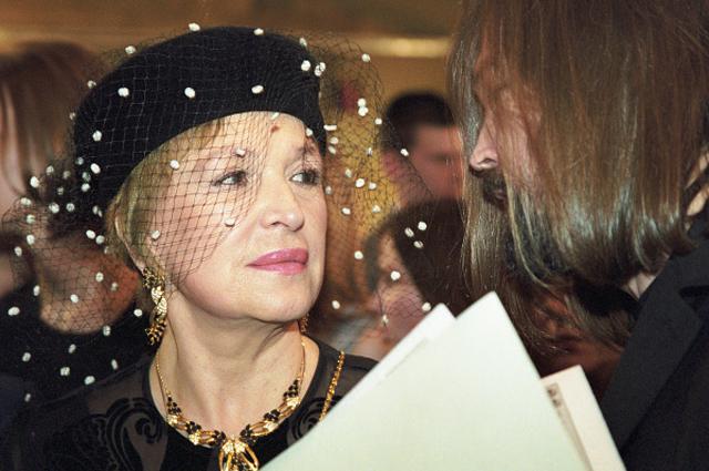 Клара Лучко и Никас Сафронов. 2000 год