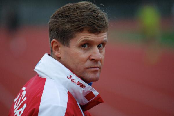 Заслуженный тренер России по спортивной ходьбе Виктор Чегин
