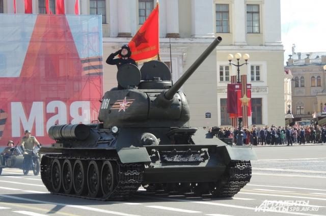 Празднование Дня Победы начнется с Парада войск.