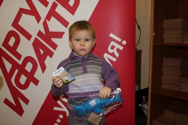 Артем Лукьянов получил кашалота синего от мастера Аллы Харченко.