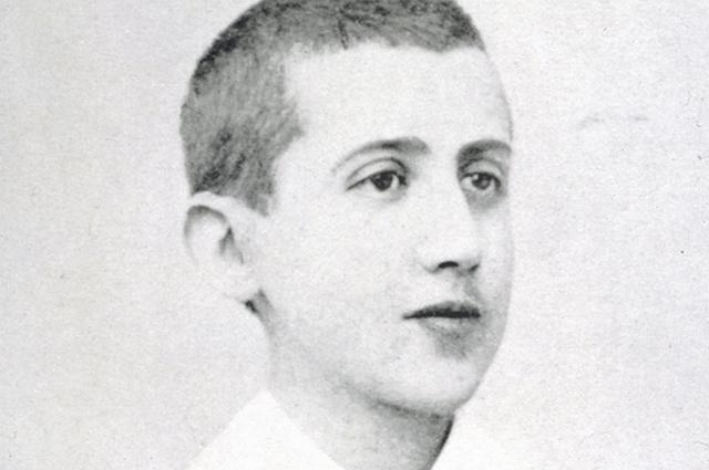Марсель Пруст в возрасте 14-и лет.