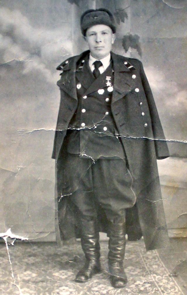 Семён Коновалов в послевоенные годы.