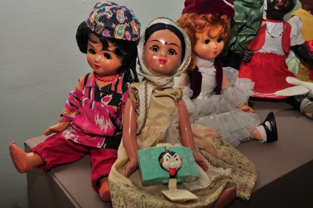 У кукол тоже есть национальность.
