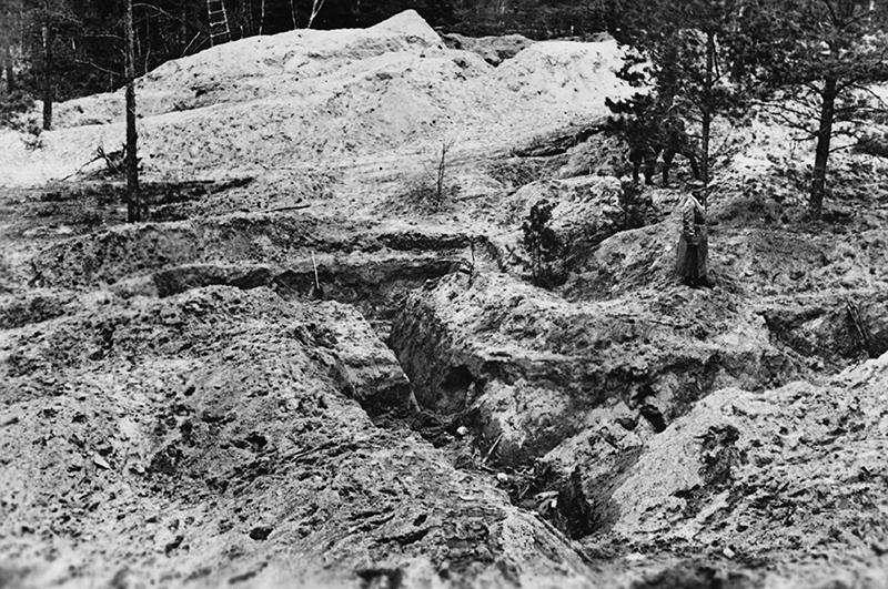 Раскопки в Катыне